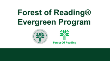 Forest of Reading and Evergreen logo